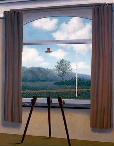 René Magritte, La condition humaine 1933, National Gallery of Art, Washington D.C.