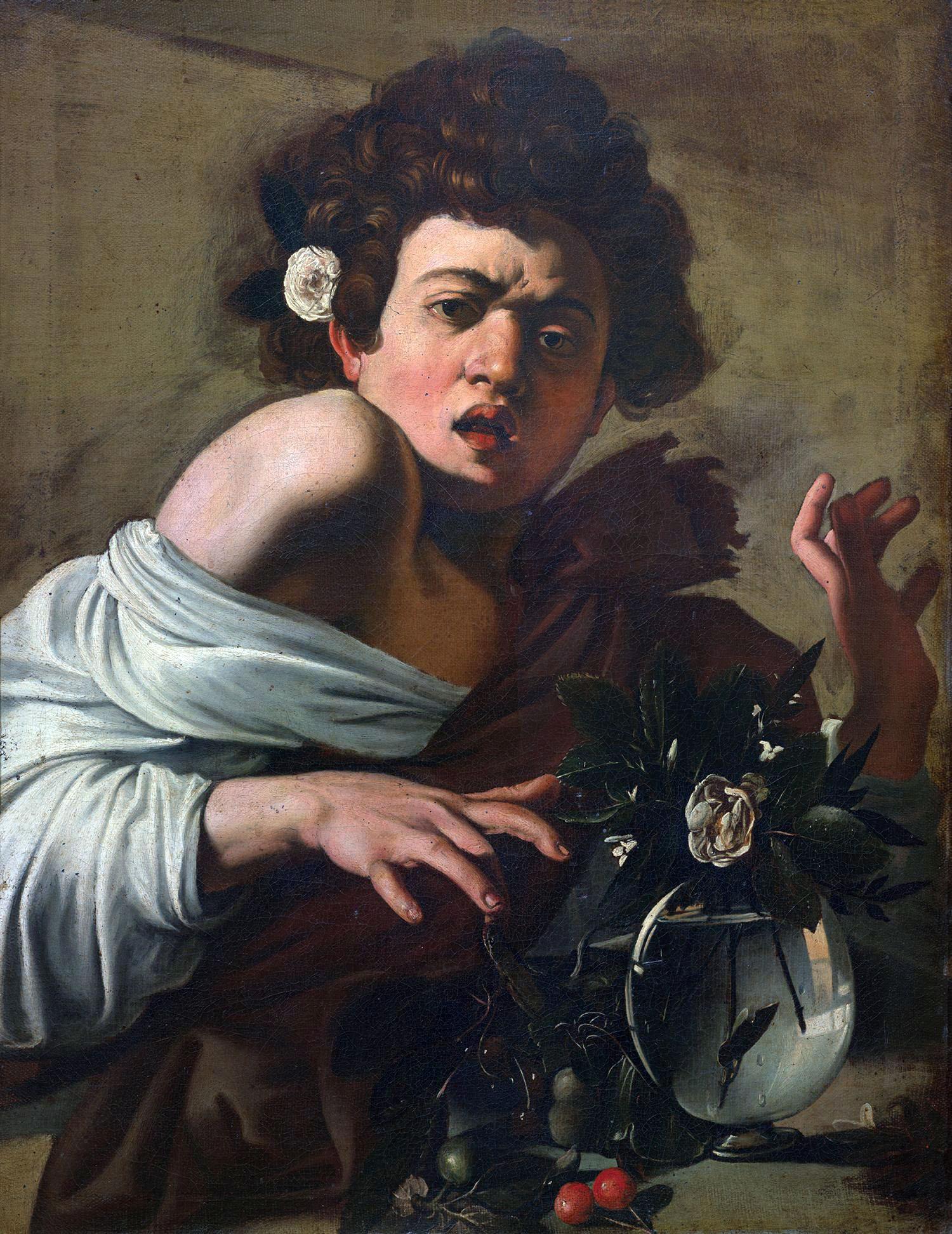 Caravaggio, Ragazzo morso da un ramarro
