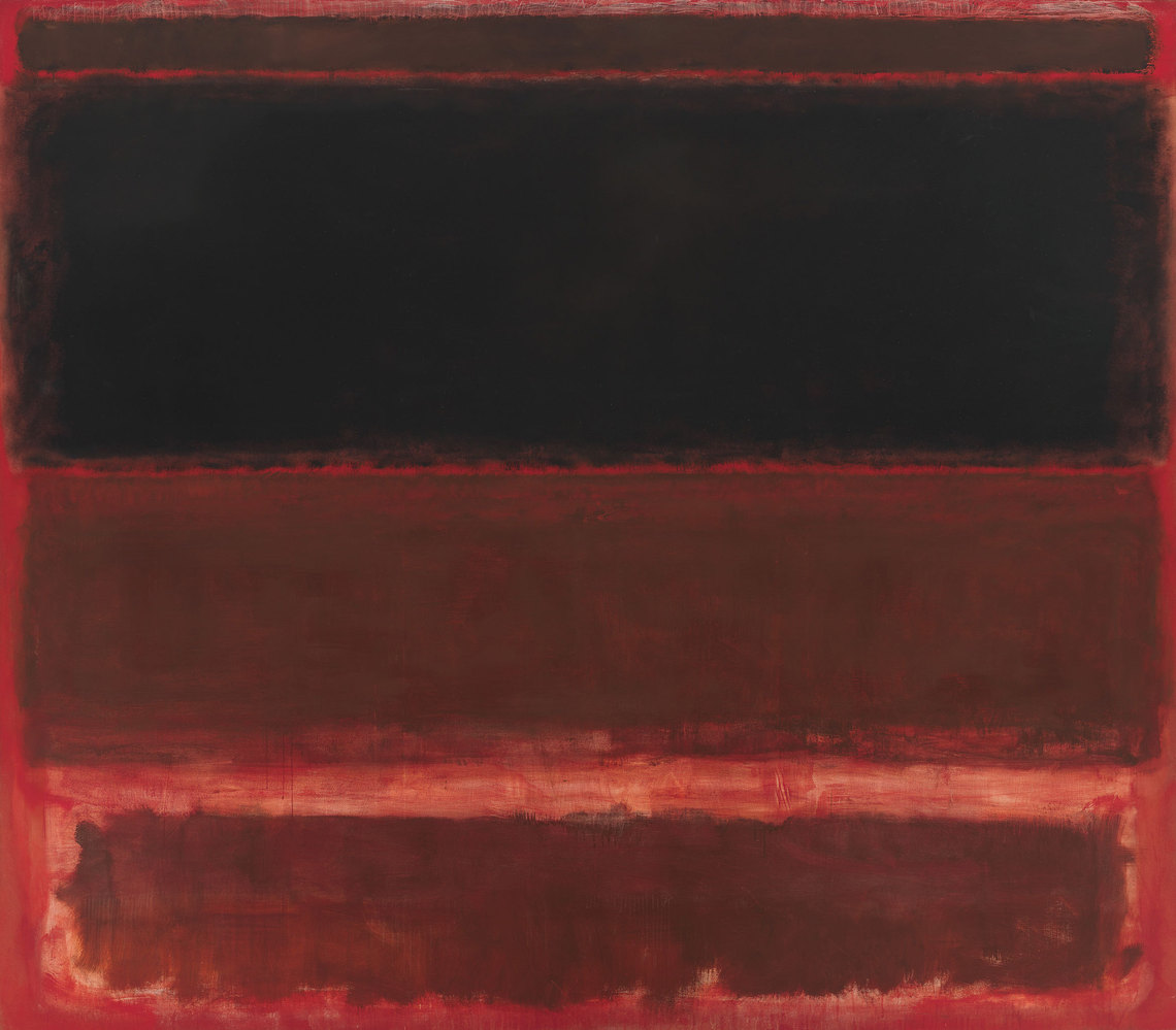 Mark Rothko, Four Darks in Red, 1958, Whitney Museum of Art