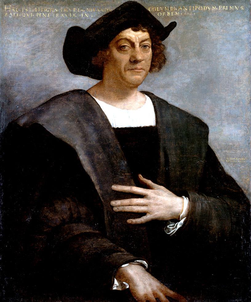 Sebastiano del Piombo, Cristoforo Colombo