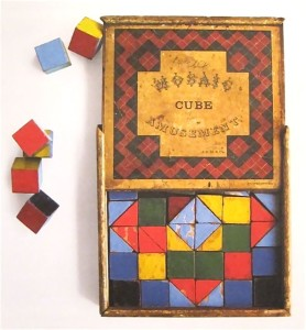 Mosaic Cube Amusement
