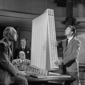 L'architetto Howard Roark (Gary Cooper) e i compromessi della creatività nel film di King Vidor The Fountainhead (1949)