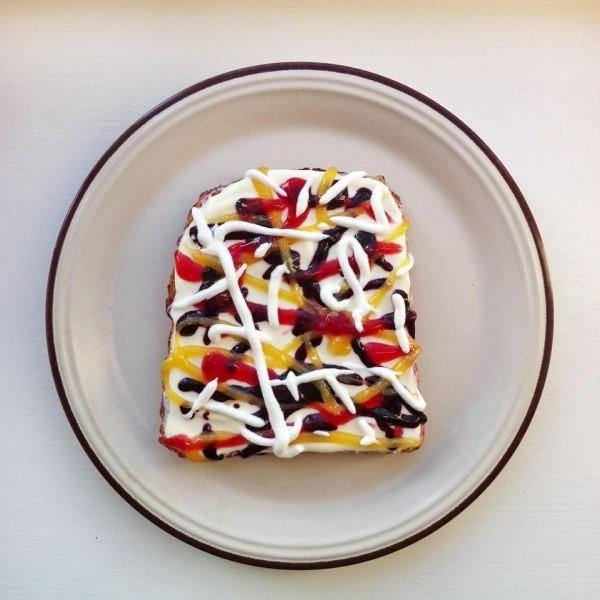 5-Jackson Pollock e le sue confuse idee sul melting sauce.