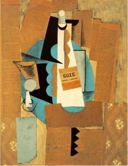 Pablo Picasso, La bouteille de Suze,