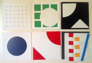 """""""Le viseur, un jeu pour apprendre à regarder"""" édition Espace de l'Art Concret Mouans-Sartoux, design: Gottfried Honegger"""