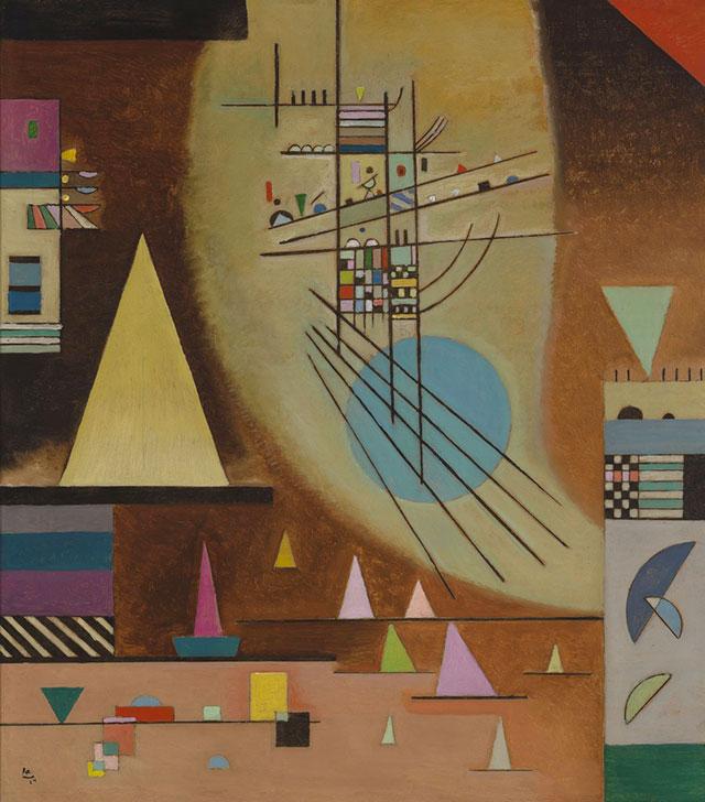 Wassily Kandinsky, Verstommen / Silenzioso, 1924, Museum Boijmans Van Beuningen, Rotterdam