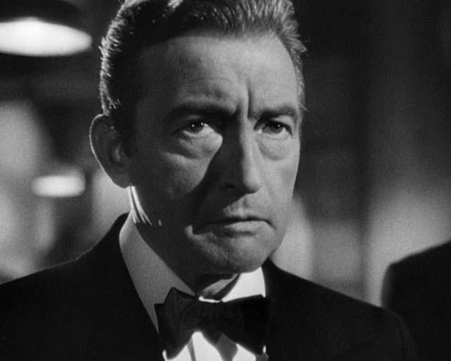 Alessio Sebastian (Claude Rains) in Notorious, di Alfred Hitchcock