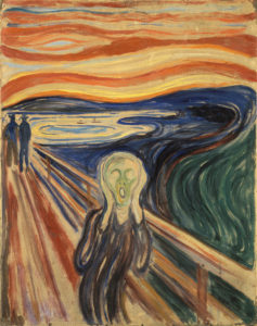 Edvard Munch, Skrik (L'urlo), 1893