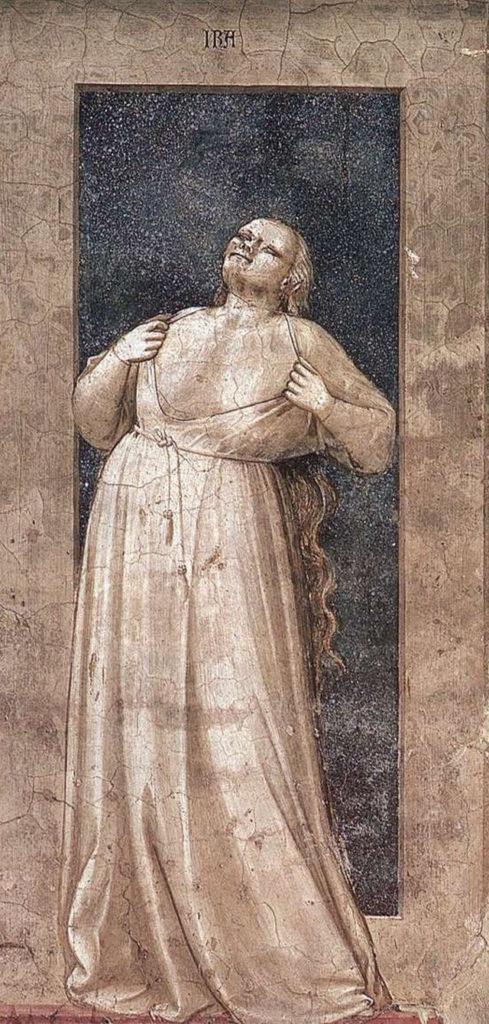 Giotto, L'ira