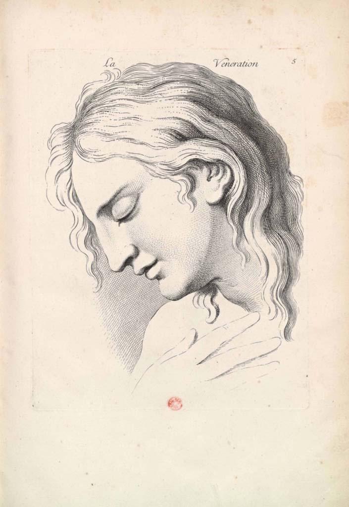 Charles Le Brun, La Venerazione