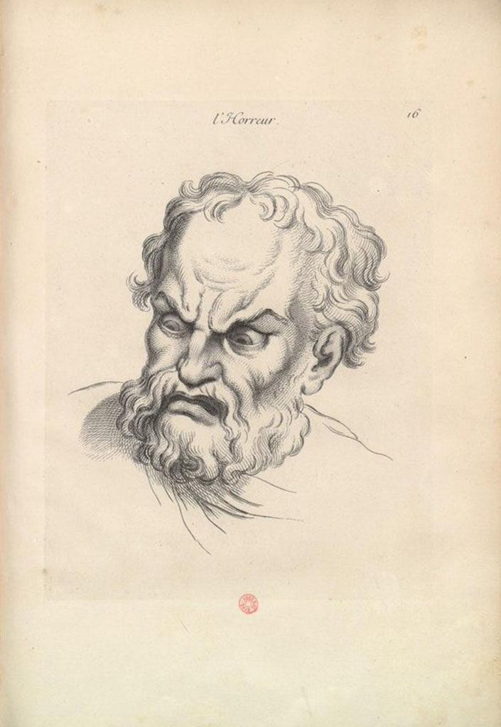 Charles Le Brun, L'Orrore