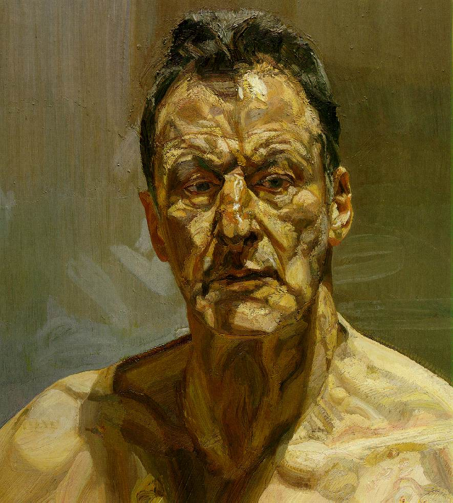 Lucian Freud, Reflection (Autoritratto)
